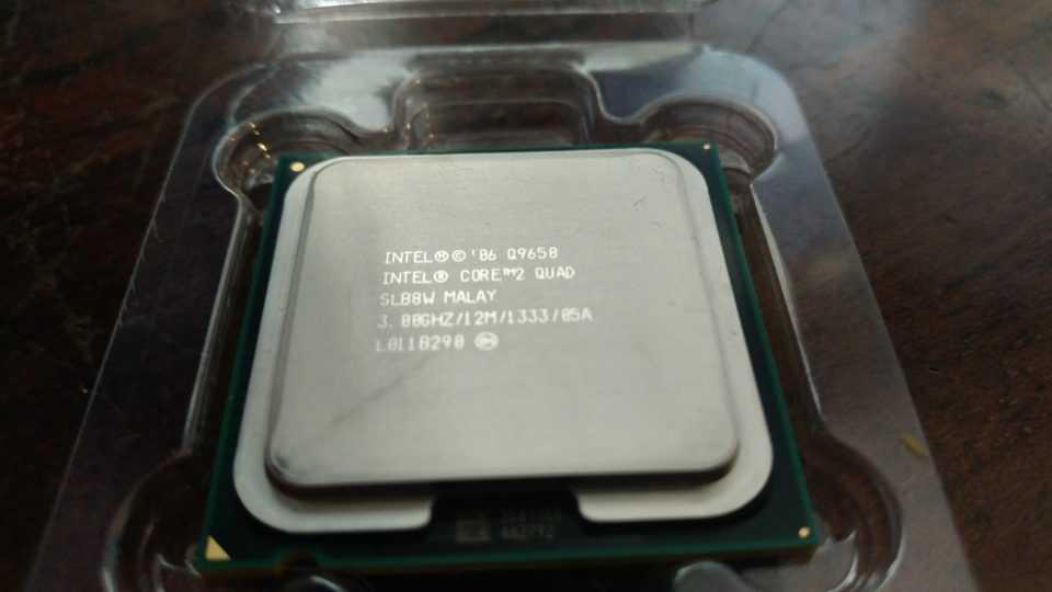 Процессор Intel Core 2 quad Q9650