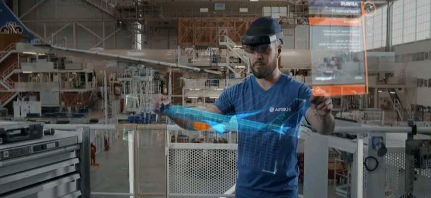 Microsoft, Airbus и дополненная реальность