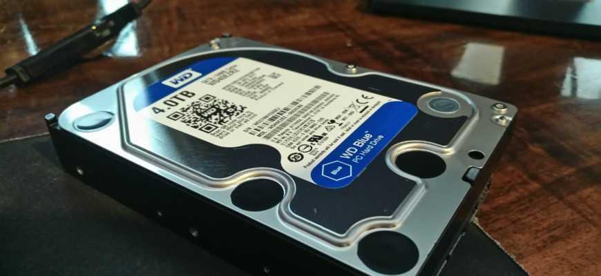 Western Digital Blue 4 TB WD40EZRZ