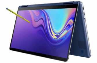Samsung Notebook 9 Pen в виде книжки