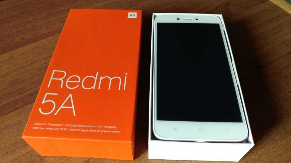 Распаковка Redmi 5A